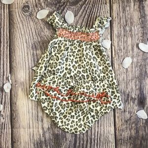 Caters Animal Print Romper Set